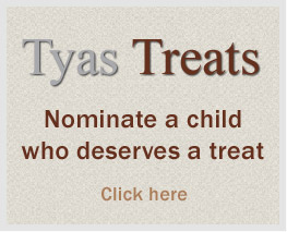 Tyas Treats - nominate a child